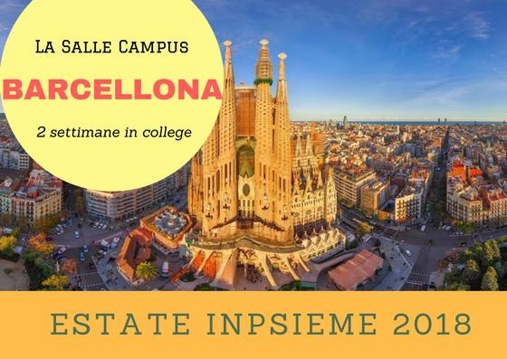 Barcellona la salle estate inpsieme 2018 sale scuola for Barcellona estate