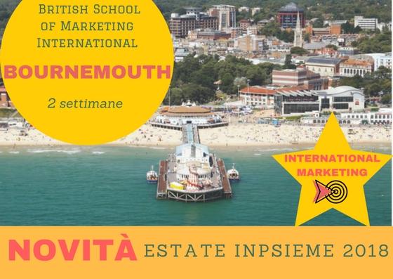 Bournemouth residence Inpsieme 2018 sale scuola viaggi