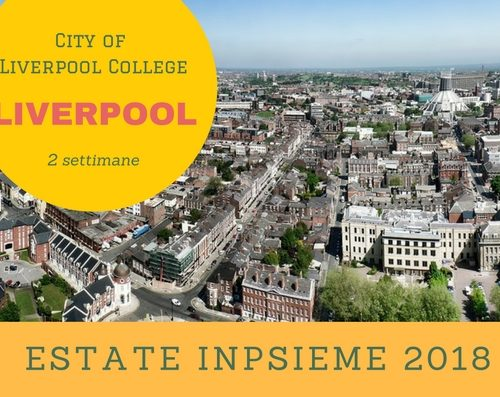 Liverpool Inpsieme 2018 sale scuola viaggi