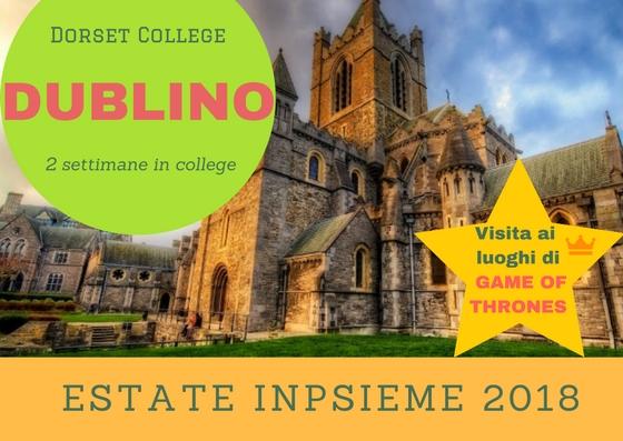 Dublino College Inpsieme 2018 Sale Scuola Viaggi