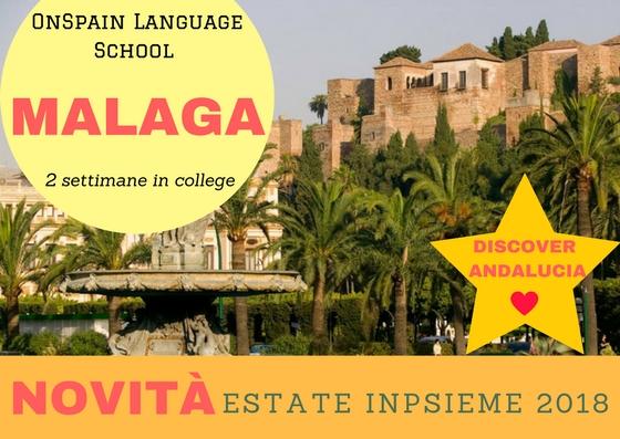 Malaga inpsieme 2018 sale scuola viaggi