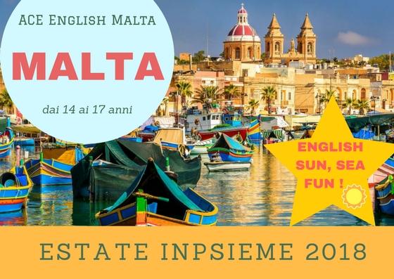 Malta INPSieme 2018 Sale Scuola Viaggi