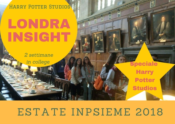 LONDRA HARRY POTTER Inpsieme 2018 Sale Scuola Viaggi