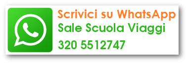 whatsapp SALE SCUOLA VIAGGI