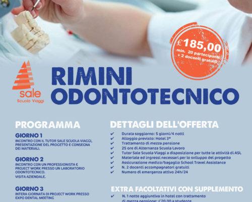 Offerta Odontotecnico Rimini Sale Scuola Viaggi