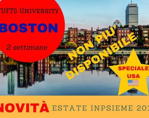 BOSTON USA Inpsieme 2018 sale scuola viaggi