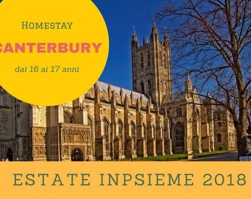 Canterbury Homastay Inpsieme 2018 Sale Scuola Viaggi
