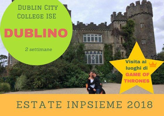 Dublin City College ISE Inpsieme 2018 Sale Scuola Viaggi