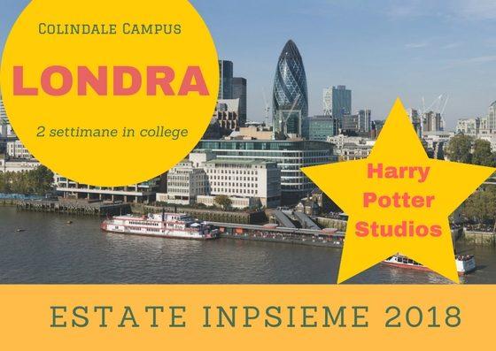 Colindale campus Inpsieme 2018 sale scuola viaggi