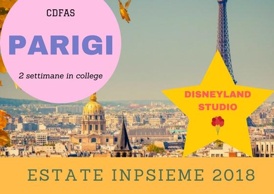 Parigi Inpsieme 2018 Sale Scuola Viaggi