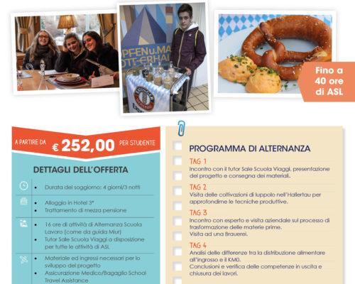 Monaco Filiera del Food Sale Scuola Viaggi