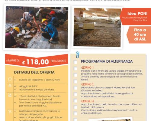 Rimini Archeologia Sale Scuola Viaggi