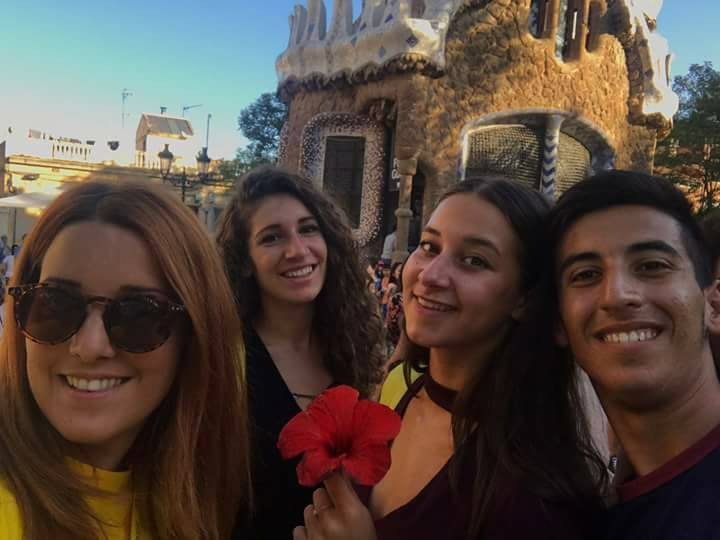 barcellona parc guell inpsieme 2018 sale scuola viaggi