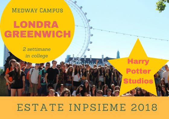 londra Medway Inpsieme 2018 sale scuola viaggi