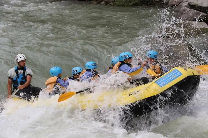 rafting la thuile sale scuola viaggi