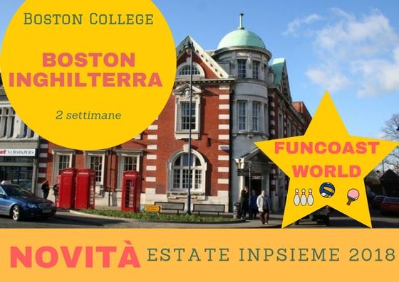 Boston Inghilterra Inpsieme 2018 Sale Scuola Viaggi