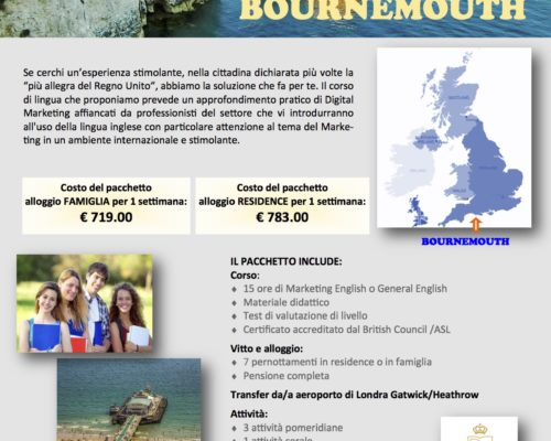 individuale Bournemouth sale scuola viaggi