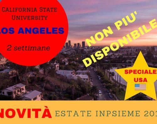 LOS ANGELES USA Inpsieme 2018 sale scuola viaggi