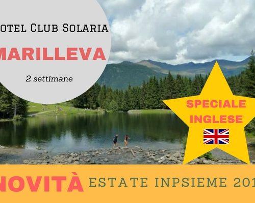 Marilleva Solaria inglese INpsieme 2018 Sale Scuola Viaggi