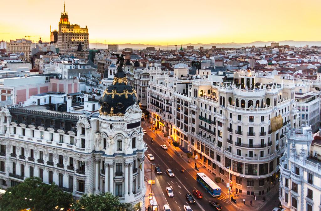 Madrid Sale scuola viaggi