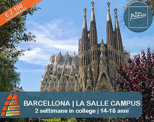 Barcellona Estate INPSieme 2019 Sale Scuola Viaggi destinazione estero