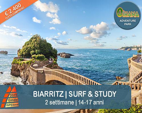 Biarritz Estate INPSieme 2019 Sale Scuola Viaggi destinazione estero