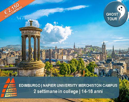 Edimburgo Estate INPSieme 2019 Sale Scuola Viaggi destinazione estero