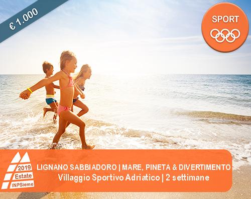 Lignano Sabbiadoro - Mare, Pineta & Divertimento - Estate INPSieme ...