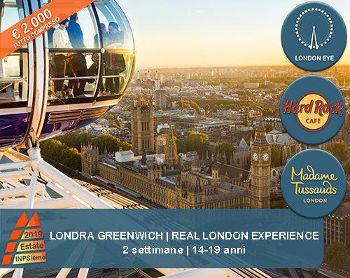 Londra Experience Estate INPSieme 2019 Sale Scuola Viaggi destinazione estero