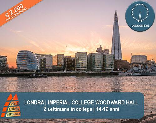 Londra Imperial Estate INPSieme 2019 Sale Scuola Viaggi destinazione estero