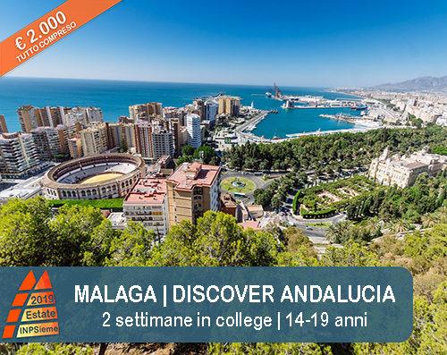 Malaga Estate INPSieme 2019 Sale Scuola Viaggi destinazione estero