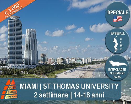 Miami Estate INPSieme 2019 Sale Scuola Viaggi destinazione estero