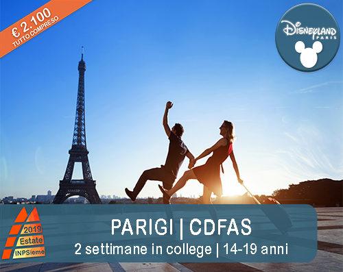 Parigi Estate INPSieme 2019 Sale Scuola Viaggi destinazione estero