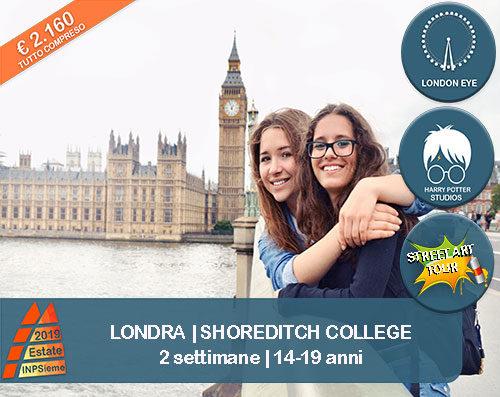 Shoreditch Estate INPSieme 2019 Sale Scuola Viaggi destinazione estero 14-19