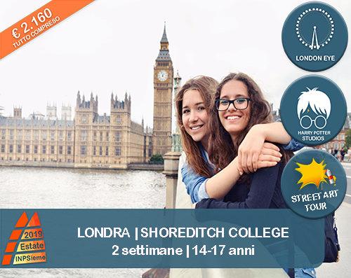 Shoreditch Estate INPSieme 2019 Sale Scuola Viaggi destinazione estero