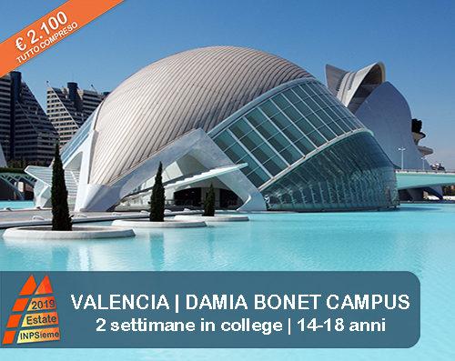 Valencia Estate INPSieme 2019 Sale Scuola Viaggi destinazione estero