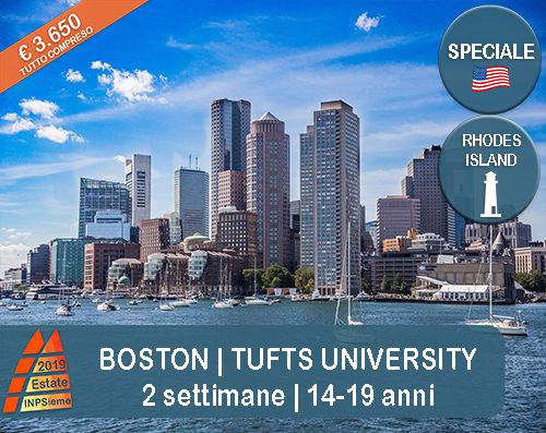 Boston Estate INPSieme 2019 Sale Scuola Viaggi destinazione estero