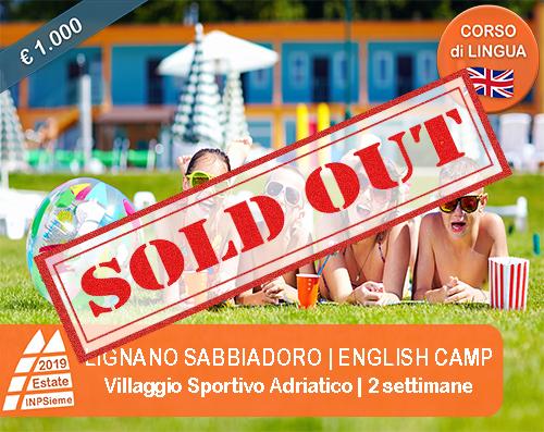 Lignano Sabbiadoro - English Camp - Estate INPSieme 2019 - Sale ...