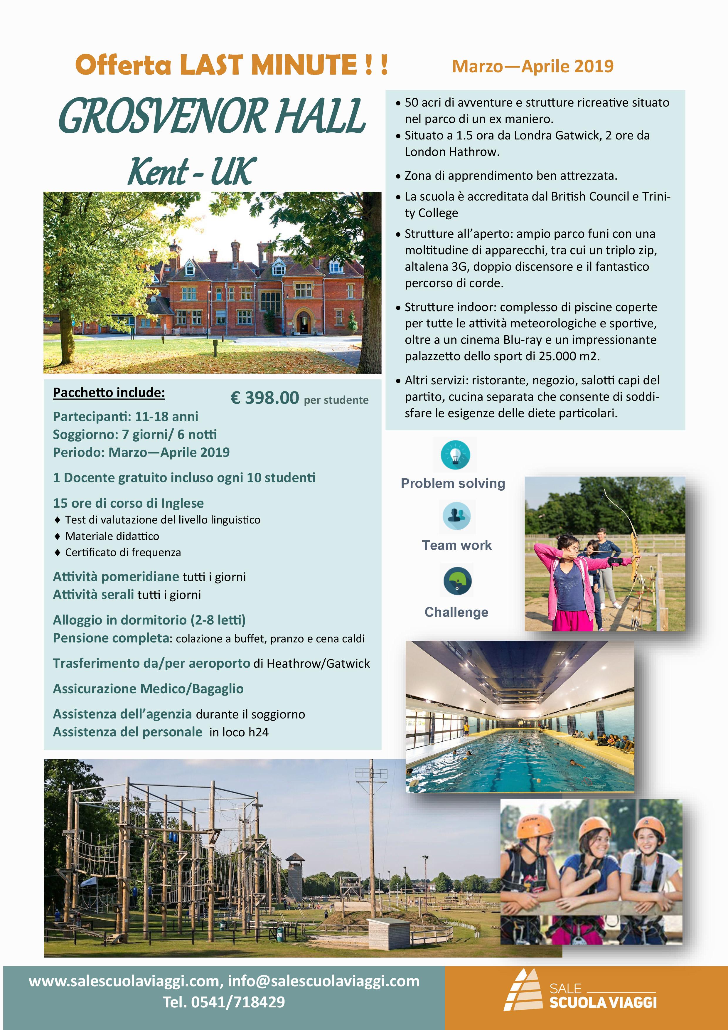 Corso di lingua inglese - Kent - Offerta Last Minute in struttura ...